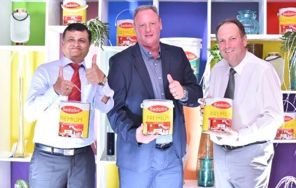 Sadolin opens first colour centre in Kampala