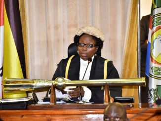 Speaker Rebecca Kadaga says MPs should not interfere with the court process