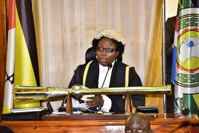 Speaker of Uganda Parliament, Rebecca Kadaga