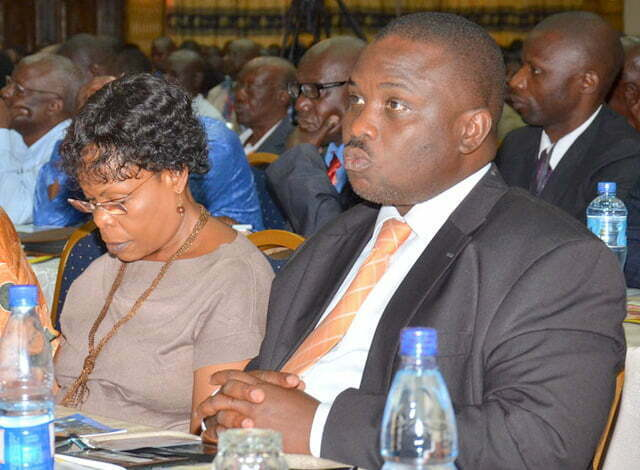 Erias Lukwago with Betty Kamya