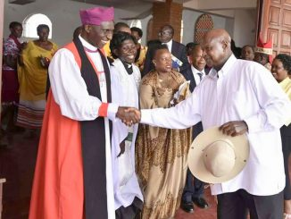 Bishop Kisembo, President Museveni clash over age limit