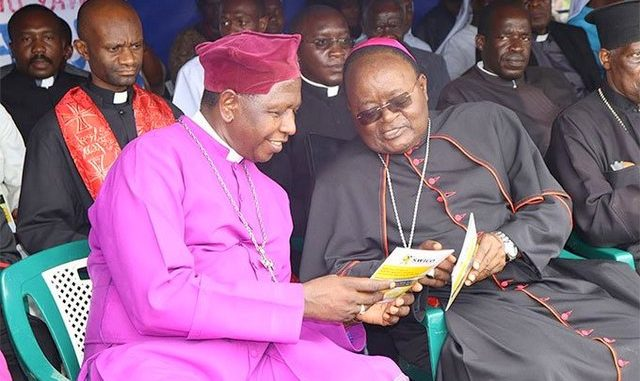 Archbishop Lwanga denies plot to overthrow Museveni