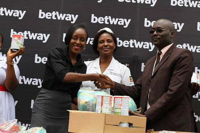 Betway gives support to Naguru Hospital