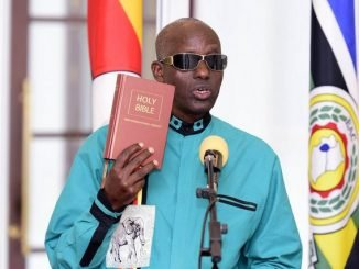 Gen Elly Tumwine sworn in as security minister