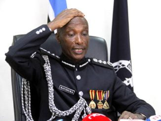 Gen Kayihura's last act as Inspector General of Police