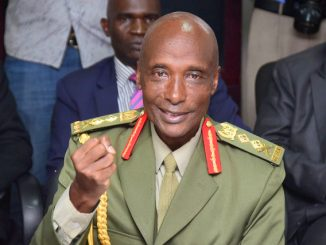 I remain a loyal soldier, cadre - Gen Kale Kayihura