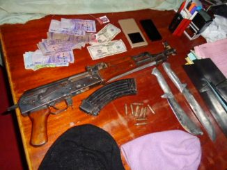Uganda Police puts 'out of action' two suspected thugs in Namanve