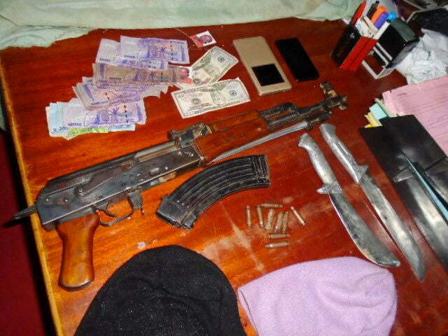 Items recovered by Uganda from thugs