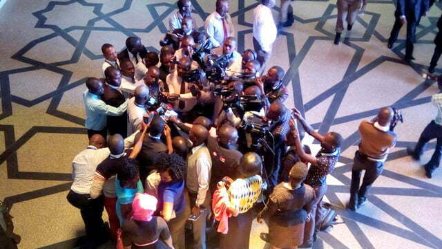 Journalists in Uganda warned against Organizing press conferences for MPs
