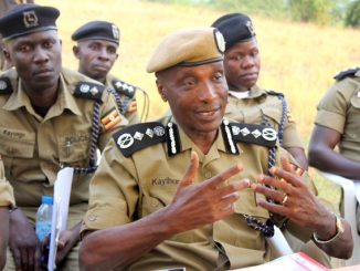 How police officers received news of Gen Kayihura's sacking