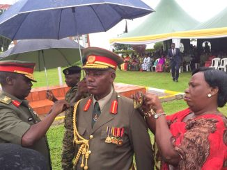 Kasirye Gwanga absent as UPDF decorates promoted officers