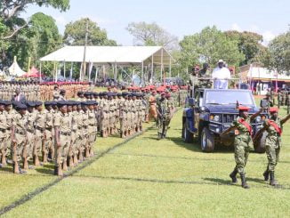 Uganda Police infiltrated by bean weevils - Museveni