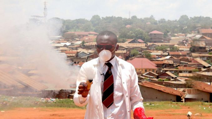 Makerere students set for mass production of teargas in July