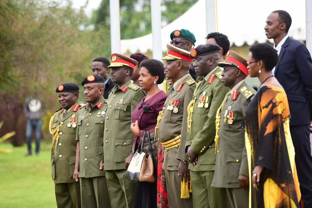 UPDF decorates promoted officers