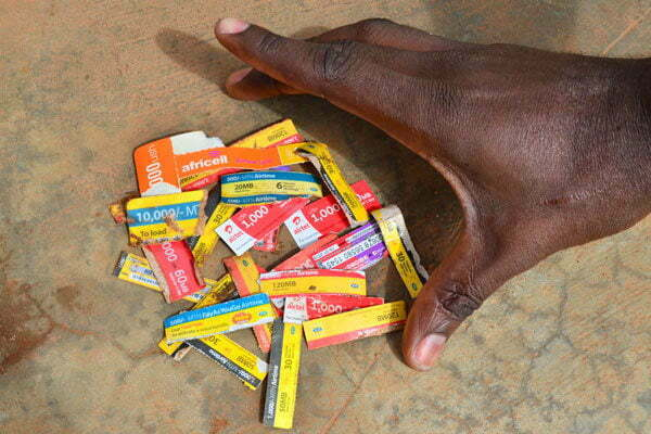 scratch cards in Uganda