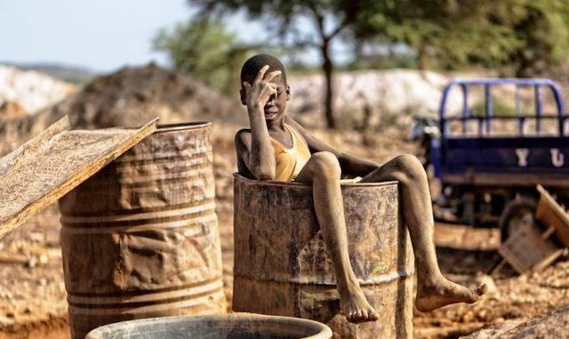 Ugandan children wasting away in gold mines