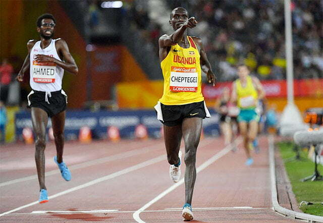 Cheptegei wins second gold in Australia