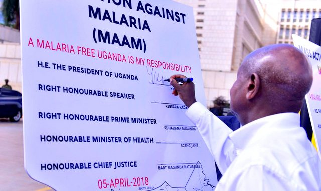 President Museveni offers UGX 350B to fight malaria