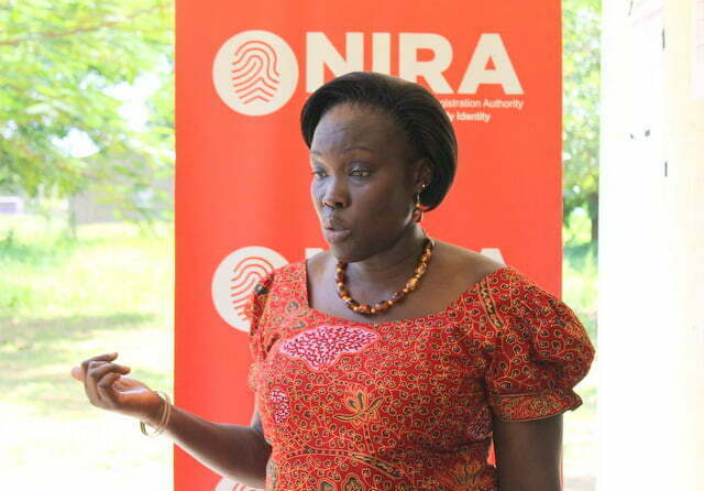 National Identification and Registration Authority (NIRA) Executive Director Judy Obitre-Gama