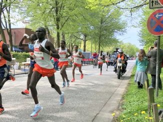 Stephen Kiprotich fifth in 2018 Haspa Hamburg Marathon
