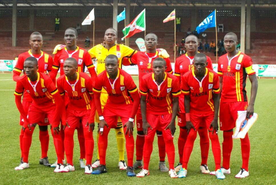 Uganda Cubs at the CECAFA U-17 tournament