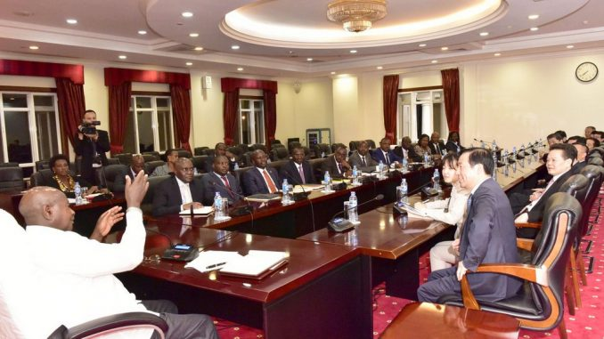 We want market for our agro products, Museveni tells Chinese