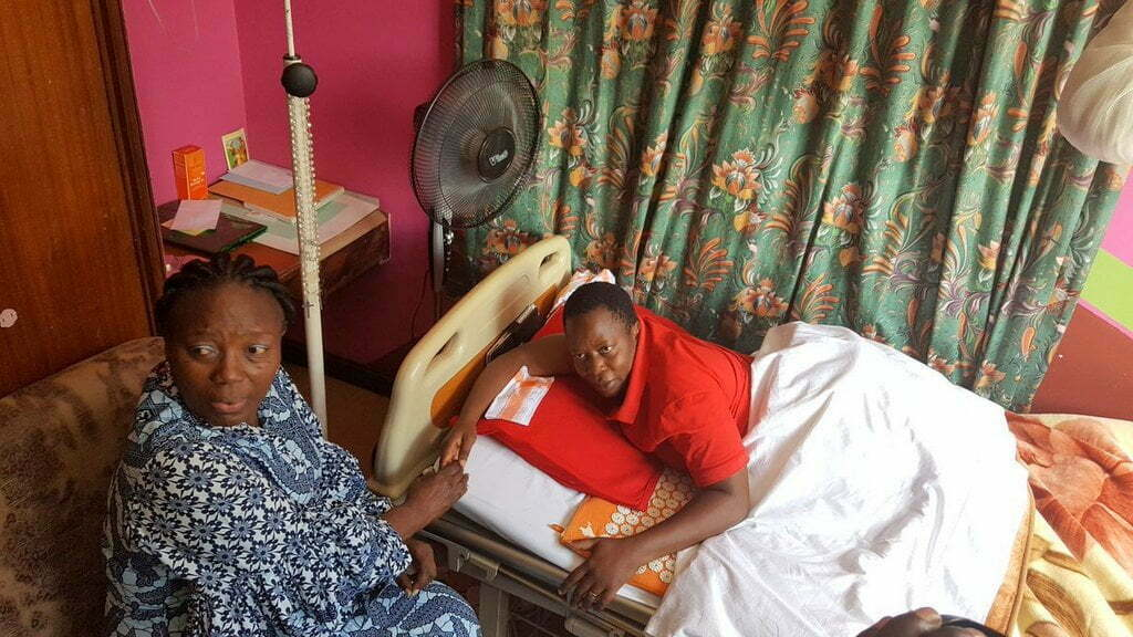 Nambooze hospitalized