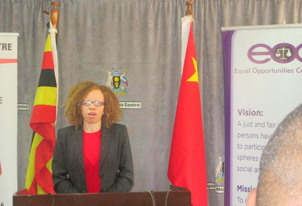 Olive Namutebi, Chairperson Albinism Umbrella
