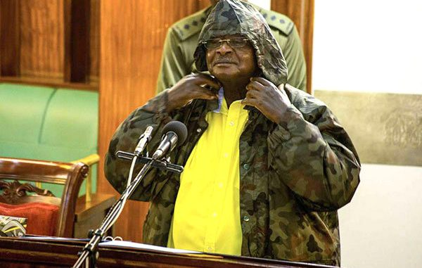 Traders in Kampala react to ban on hooded jackets by President Museveni
