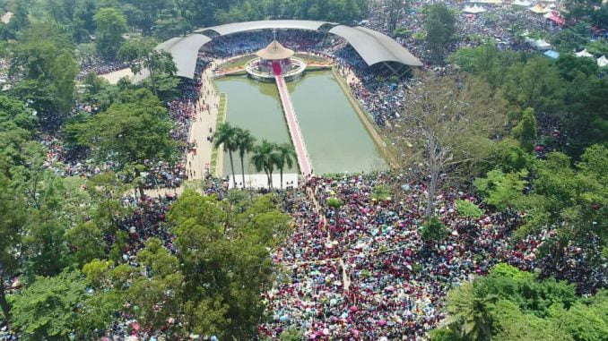 Thousands converge at Namugongo for Martyrs Day