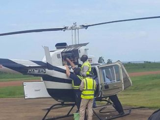 Oldest Uganda Police helicopter flies again after 15 years