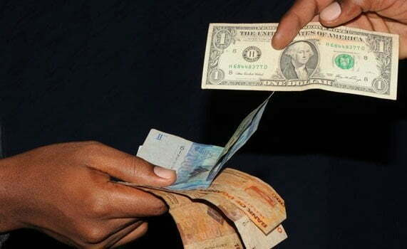 Uganda shilling weakens against the U.S dollar
