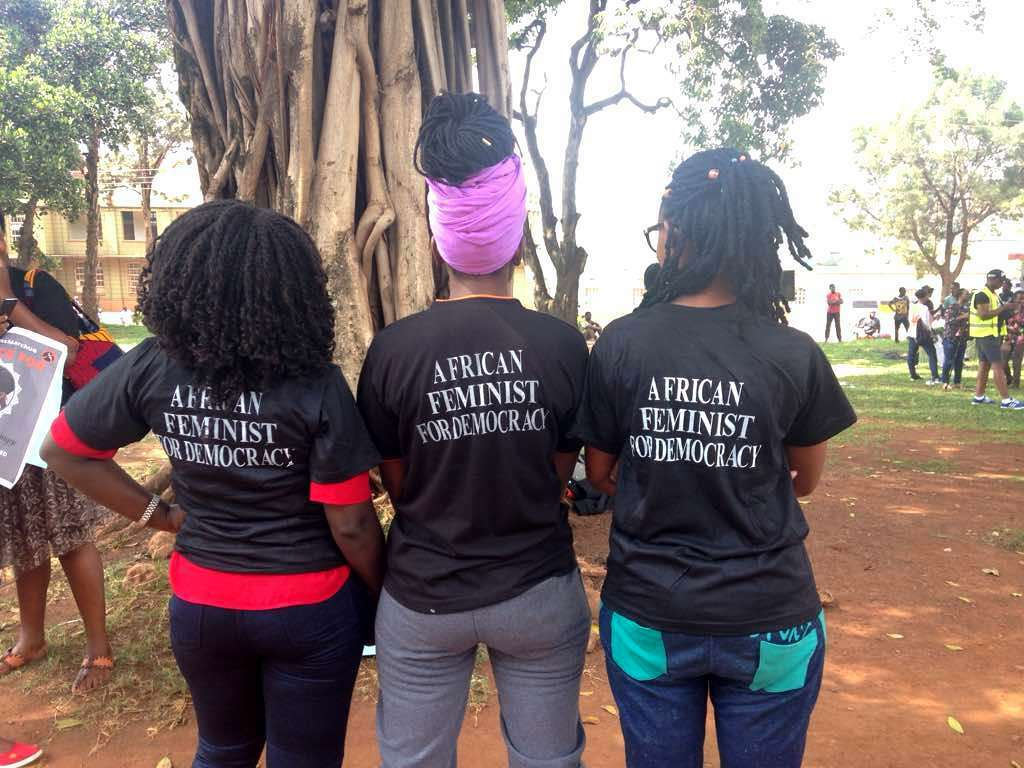 Hundreds attend Stella Nyanzi's 'One Million March' event