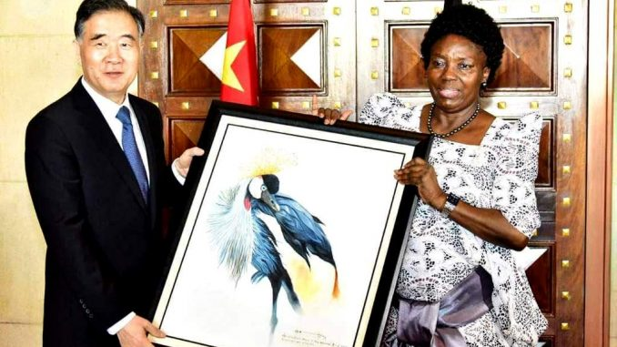 Speaker Kadaga pleads for repatriation of Ugandans jailed in China