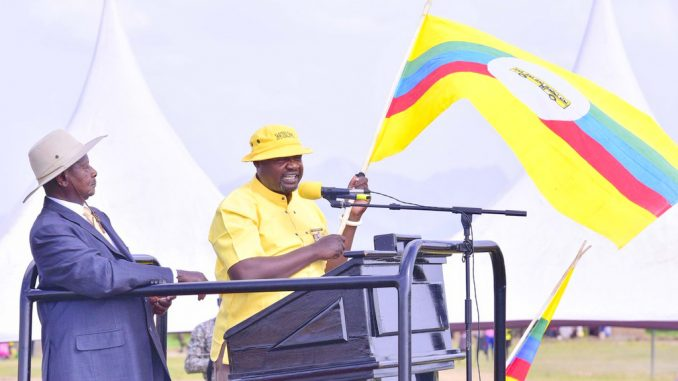 President Museveni suggests lining up in NRM primaries