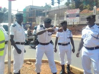 All Traffic Commanders in Kampala Metropolitan transferred