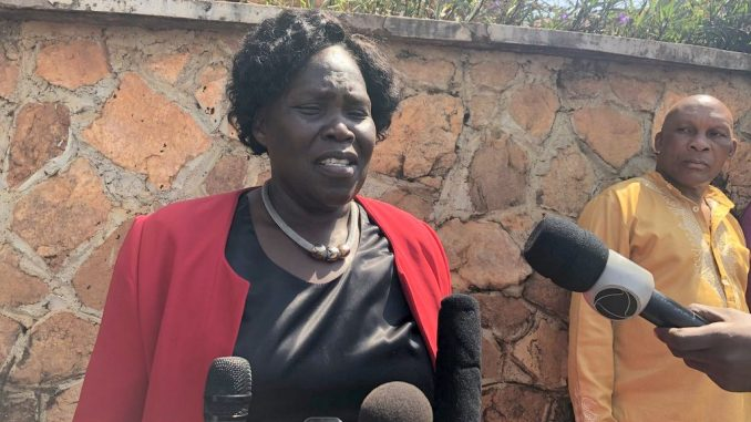 Betty Ochan applauds army for dropping charges against Bobi Wine