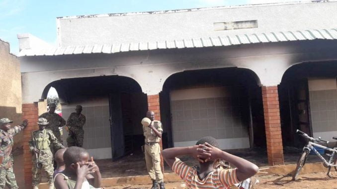 NRM chairman's office in Nebbi district set ablaze