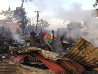 Fire guts Madhivani Market destroying property worth millions of shillings