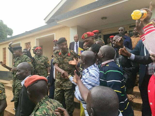Gen. Kale Kayihura freed on bail