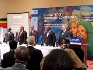 Global Peace Leadership Conference 2018 opens in Kampala