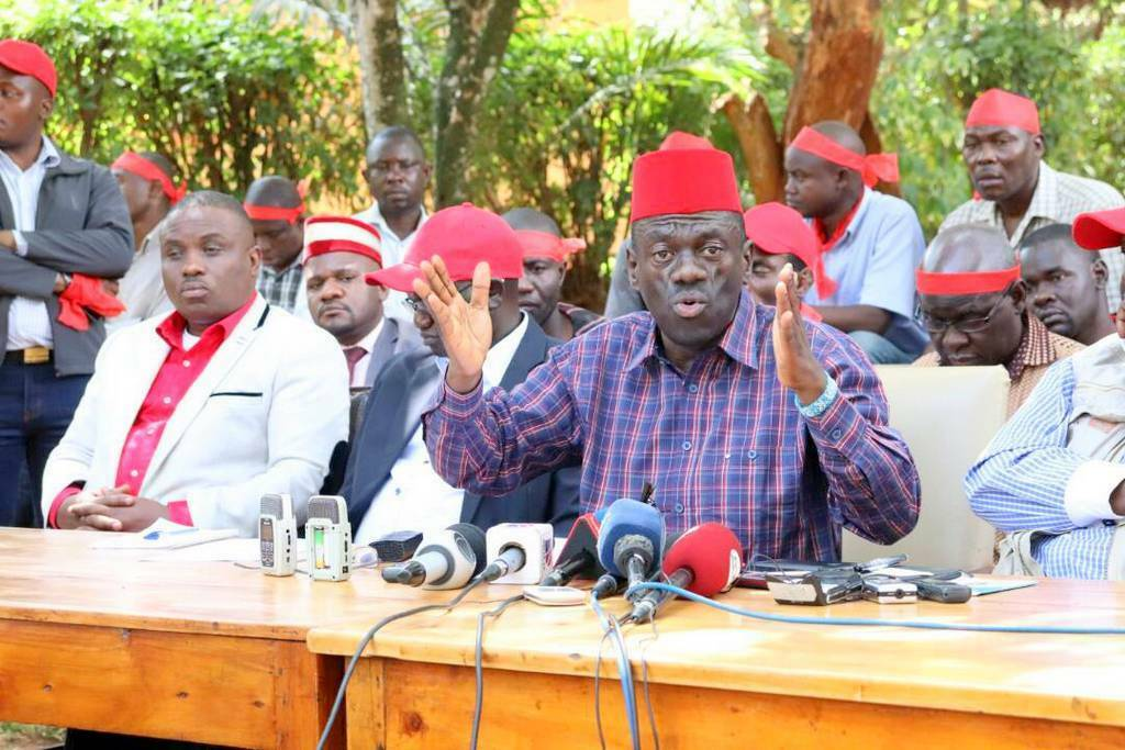 Kizza Besigye wants all arrested MPs be released