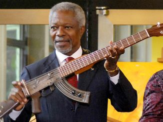Tribute to Kofi Annan - 'A proud son of Africa'