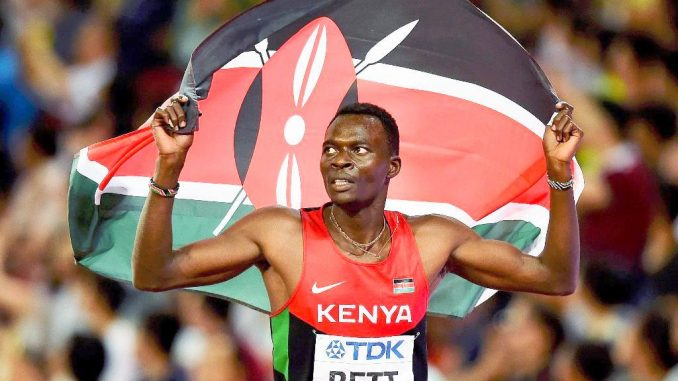 Kenyan athlete Nicholas Bett dies in road accident