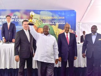 President Museveni receives Global Peace Award
