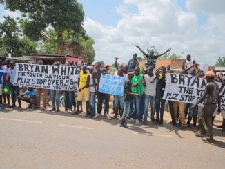 Two shot at Bryan White event in Arua