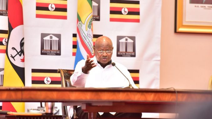 "Back off Uganda's issues,"" President Museveni tells foreign powers"