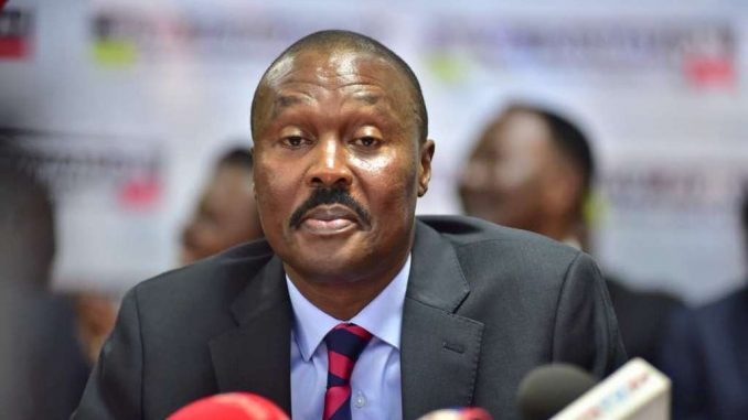 Gen. Mugisha Muntu unveils new political group, the New Formation