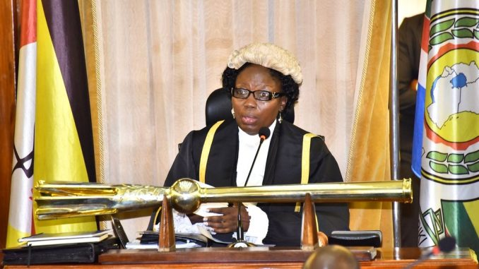 Speaker of Parliament Rebecca Kadaga names lazy committees