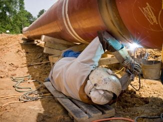 Training underway for welding jobs in oil and gas sector